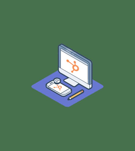 Online ondersteuning met een snelle start van HubSpot