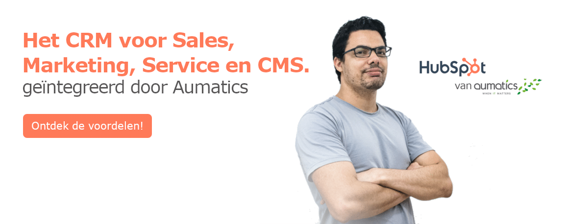 Wat kost HubSpot van Aumatics?