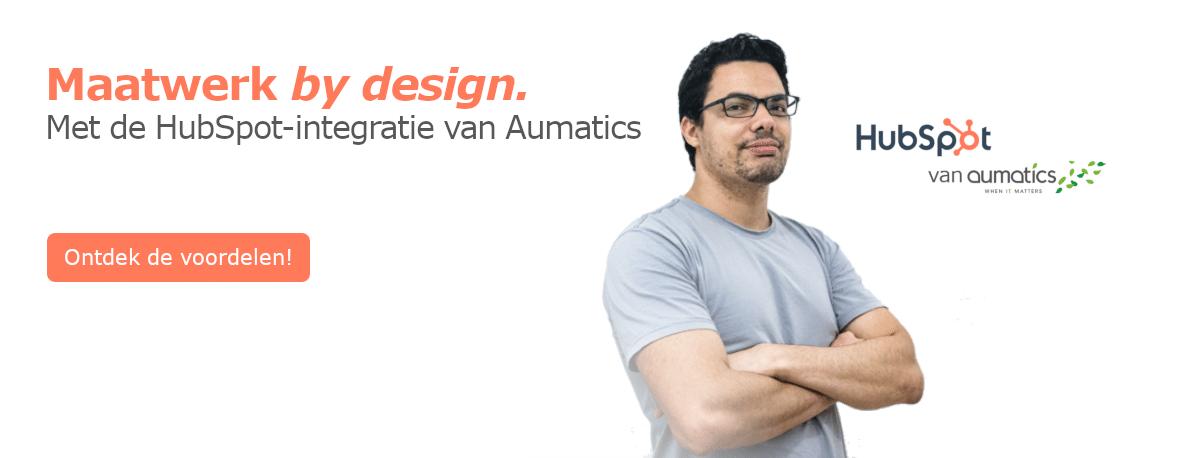 Contact met Aumatics voor HubSpot integratie
