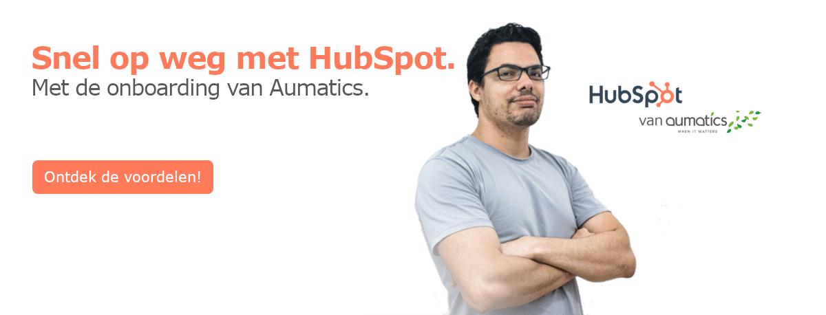 HubSpot Snel op weg