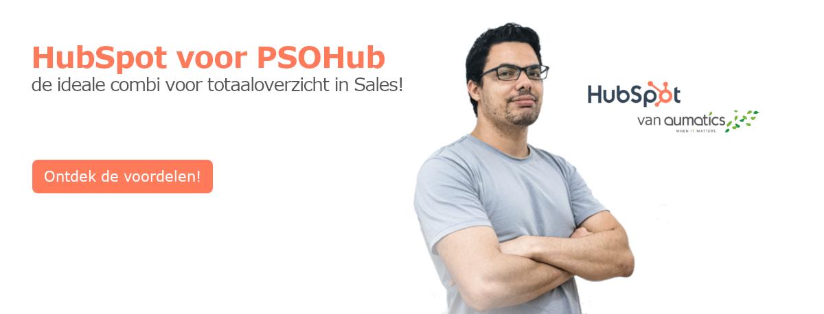 HubSpot voor PSOHub