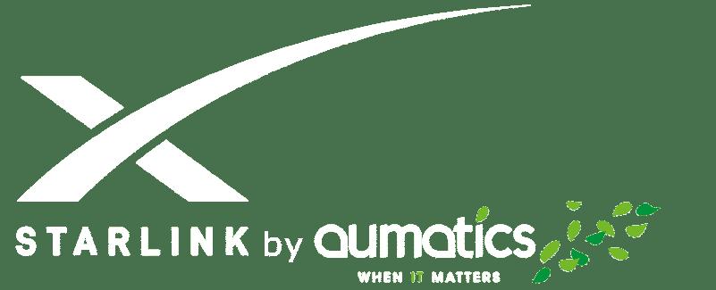 StarLink tijdelijk internet van Aumatics