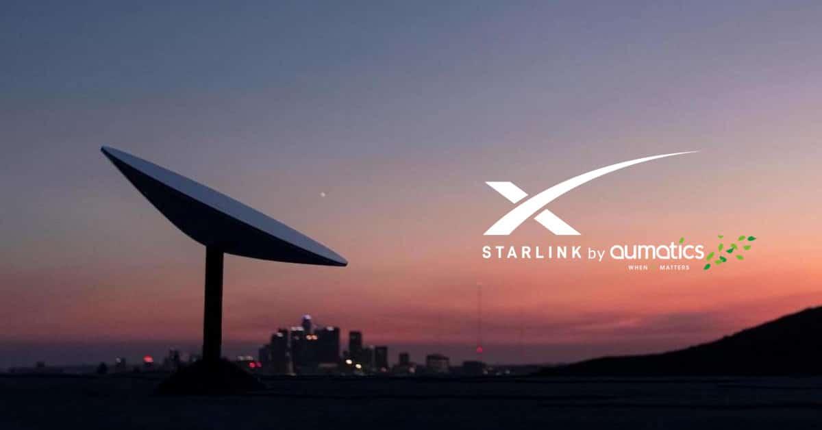 StarLink tijdelijk internet by Aumatics